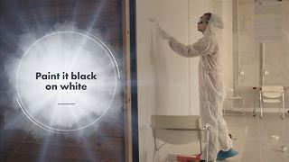 This Paint lets you draw on walls... And wipe it off! - Video