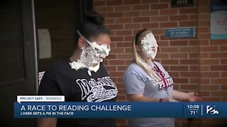 A race to reading challenge