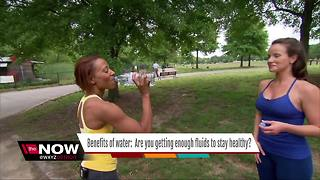 Benefits of water: Are you getting enough fluids to stay healthy? - Video