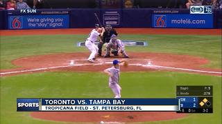 Six Tampa Bay Rays' pitchers combine for 5-hitter, beat Toronto Blue Jays 4-1 - Video
