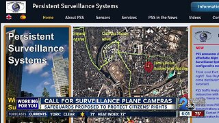Call for surveillance plane cameras