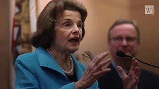 Dianne Feinstein Introduces Bill to Ban Gun Used to Stop Texas Attack - Video