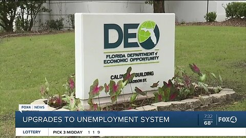 Gov. says improvements will help those struggling to file for unemployment