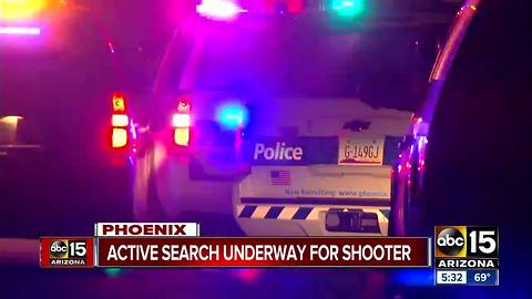 Police searching for shooter near 15th Avenue and Osborn