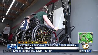 Adaptive Warrior Fitness helping veterans find strength after injury