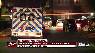 Woman's body found near Russell Road and Buffalo Drive - Video