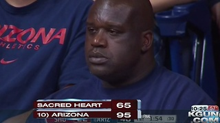 Markkanen scores 22, No. 10 Arizona routs Sacred Heart 95-65 - Video