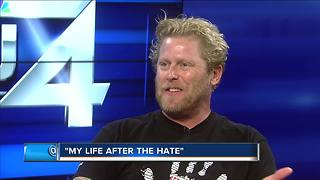 Local 'reformed white nationalist' now spreads message of love - Video