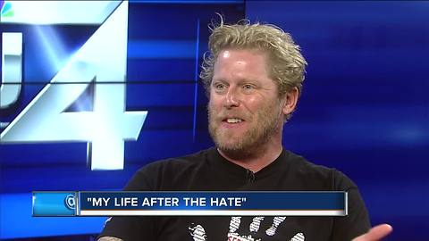 Local 'reformed white nationalist' now spreads message of love