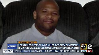 Off-duty D.C. police sergeant fatally shot in Baltimore - Video