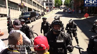 Seattle PD Voice Their Frustration At #MarchAgainstSharia March In Seattle - Video