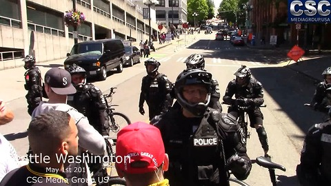 Seattle PD Voice Their Frustration At #MarchAgainstSharia March In Seattle
