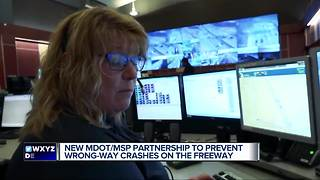 New partnership could help prevent wrong-way crashes - Video