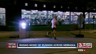 Raising Money by Running Across Nebraska