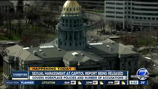 Colorado lawmakers to receive much-anticipated sexual harassment report Thursday - Video