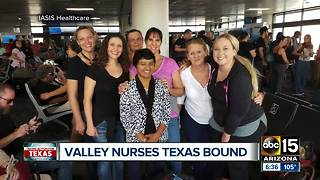 Valley nurses headed to Texas to help with hurricane relief efforts - Video