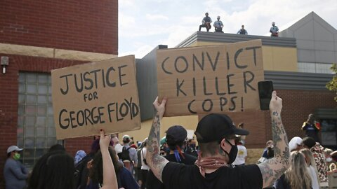 Activists, Police denounce the officer who killed George Floyd