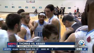 Keiser Gets Win Over Thomas 87-82 - Video