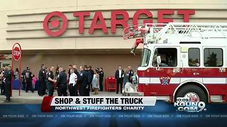 6th Annual Shop with a Firefighter/Stuff the Truck - Video