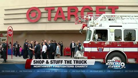 6th Annual Shop with a Firefighter/Stuff the Truck