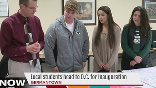 Germantown students prepare for Inauguration trip - Video