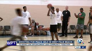 Shooting for Peace event held in West Palm Beach - Video