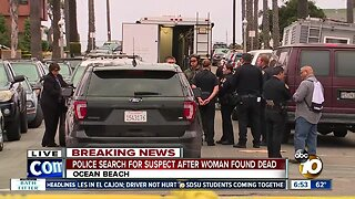 Woman found dead in Ocean Beach home