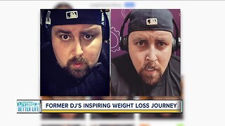 Former DJ's inspiring weight loss journey