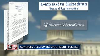 I-Team: Congressional committee sends tough questions to drug rehab company | WFTS Investigative Report - Video