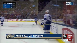 Steven Stamkos leads Tampa Bay Lightning over Toronto Maple Leafs 3-1
