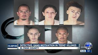 Detective: Gang feud motivated Colorado teenagers' killings - Video