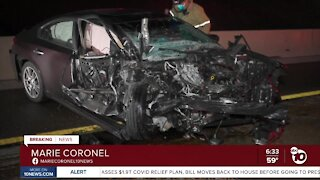Drivers survive in wrong-way wreck on SR-94