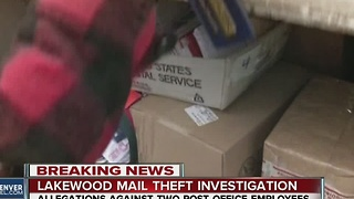 2 Lakewood postal employees under separate mail theft investigations