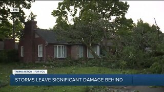 Storms leave significant damage behind