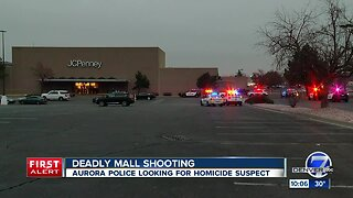 Aurora police searching for homicide suspect after shooting at mall