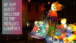 Lyon Illuminated: The festival of light returns - Video