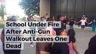 School Under Fire After Anti-Gun Walkout Leaves One Dead - Video