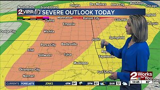 Forecast: Severe storms late today