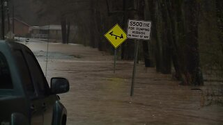 Roads flooded, rivers rising across Deep South