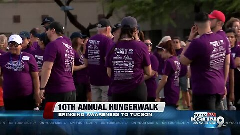 10th annual HungerWalk brings near 1,300 people together for a good cause