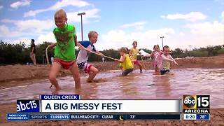 Messy Fest in Queen Creek offering kids an excuse to get dirty