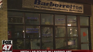 Meth lab found in downtown Lansing apartment - Video