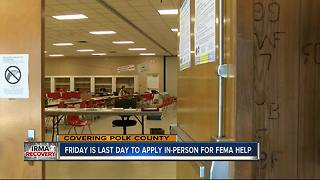 Polk FEMA center to close Friday - Video