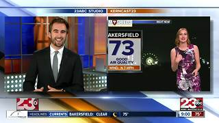 Winds picking up Sunday evening - Video