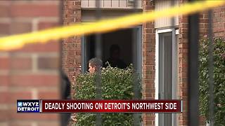 Man shot, killed on Detroit's northwest side - Video