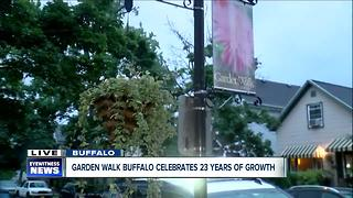 Lunenfeld Beautification Grants keeps Buffalo neighborhoods growing - Video