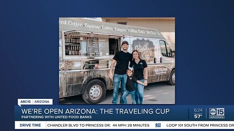 We're Open, Arizona: Meet The Traveling Cup, a mobile coffee truck in Phoenix