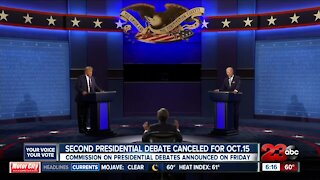 Second presidential debate canceled, local political leaders react