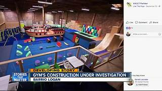 Investigation underway in platform collapse at San Diego parkour gym - Video