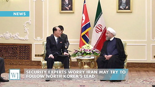 Security Experts Worry Iran May Try To Follow North Korea's Lead - Video